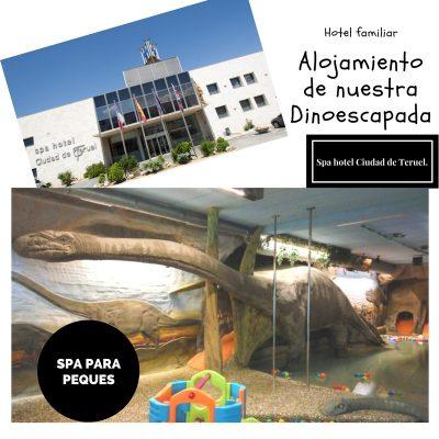 """Nuestro alojamiento en la Dinoescapda, """"kidsfriendly"""" total!"""