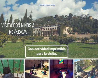 VISITA CON NIÑOS A RAIXA ( Con actividad imprimible para la visita)